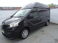 USED 2017 17 RENAULT TRAFIC 1.6 LH29 BUSINESS ENERGY DCI 125 BHP RENAULT TRAFIC.L2..HIGHTOP.. FULLY LOADED...EURO 6