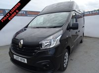 2017 RENAULT TRAFIC 1.6 LH29 BUSINESS ENERGY DCI 125 BHP £11495.00