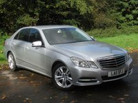 USED 2011 11 MERCEDES-BENZ E CLASS 2.1 E220 CDI BLUEEFFICIENCY AVANTGARDE 4d AUTO 170 BHP FULL HEATED LEATHER INTERIOR