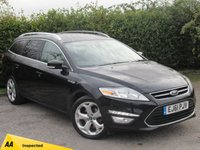 USED 2011 61 FORD MONDEO 2.0 TITANIUM TDCI 5d * BLUETOOTH * ECONOMICAL * 6 SPEED GEARBOX *