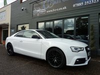 2016 AUDI A5 1.8 TFSI BLACK EDITION PLUS 3d AUTO 175 BHP £17495.00