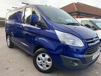 USED 2017 17 FORD TRANSIT CUSTOM 2.0 290 LIMITED 129 BHP NO VAT 1 OWNER FSH SAT NAV !!!!!