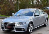USED 2009 09 AUDI A4 2.0 TDI S LINE 4d 141 BHP ***PREVIOUSLY SOLD BY OURSELVES***
