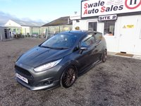 USED 2015 63 FORD FIESTA 1.0 ZETEC S 3d 124 BHP £39 PER WEEK, NO DEPOSIT - SEE FINANCE LINK