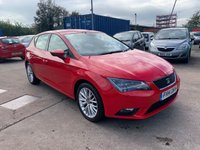 USED 2014 14 SEAT LEON 1.6 TDI SE TECHNOLOGY 5d 105 BHP SERVICE HISTORY