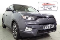USED 2018 68 SSANGYONG TIVOLI 1.6 ELX 5d 113 BHP