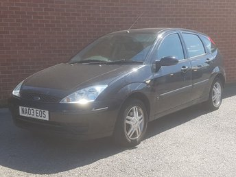 2003 FORD FOCUS 1.4 CL 5d 74 BHP SOLD