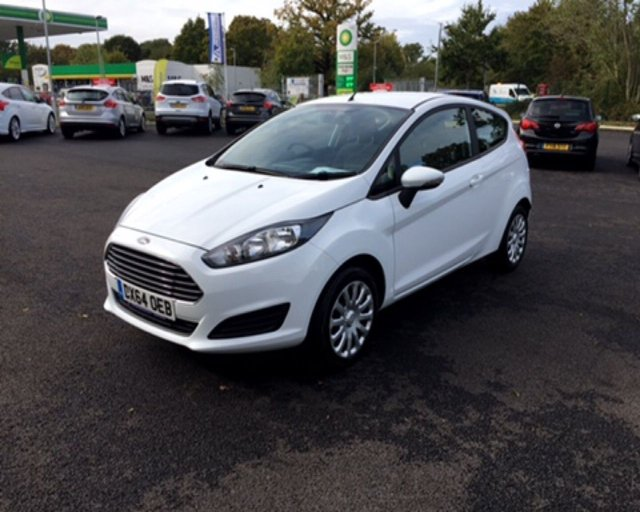 2014 64 FORD FIESTA 1.25 STYLE 3dr