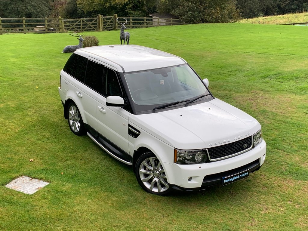 USED 2013 13 LAND ROVER RANGE ROVER SPORT 3.0 SDV6 HSE 5d AUTO 255 BHP