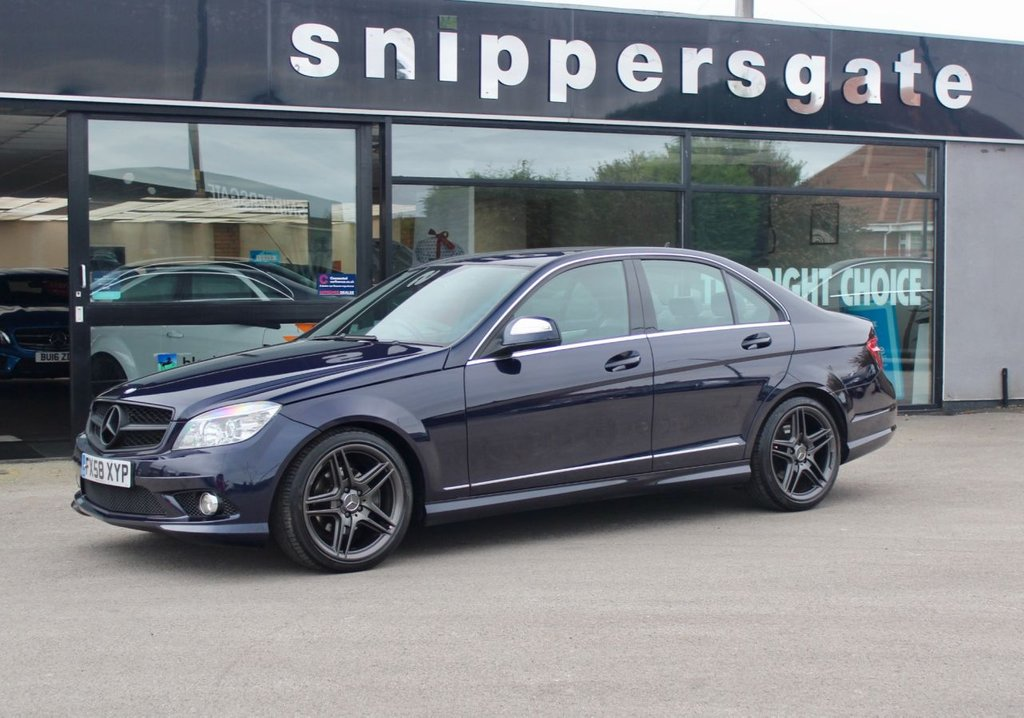 """USED 2008 58 MERCEDES-BENZ C CLASS 2.1 C200 CDI SPORT 4d AUTO 135 BHP C200 Cdi Sport Automatic, Sports Suspension, Electric Folding Mirrors, AMG 18"""" Alloys, AMG Sports Package, AMG Styling Package, Rain Sensor, Sports Seats Multi Function Steering Wheel, 2 Keys and Book Pack, Service History - Just Serviced,"""