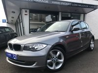 USED 2011 11 BMW 1 SERIES 2.0 116I SPORT 5d 121 BHP **** Reliable Low Mileage BMW Sport ****