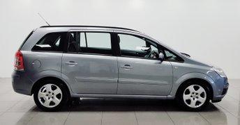 2008 VAUXHALL ZAFIRA 1.6 EXCLUSIV 5d 105 BHP £2250.00