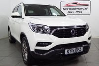 USED 2019 19 SSANGYONG REXTON 2.2 ULTIMATE 5d AUTO 179 BHP