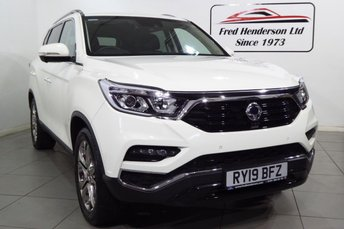 2019 SSANGYONG REXTON 2.2 ULTIMATE 5d AUTO 179 BHP £32995.00
