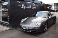USED 2007 07 PORSCHE 911 3.8 CARRERA 2 S 2d 355 BHP STUNNING IN METEOR GREY - BRAND NEW CLUTCH - LEATHER - NAV - SPORT CHRONO   PASM - SPORT EXHAUST - BOSE - TURBO ALLOYS