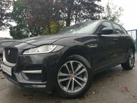 USED 2016 16 JAGUAR F-PACE 2.0 R-SPORT AWD 5d AUTO 178BHP SPORTS ALLOYS+CLIMATE+CRUISE+ELECS+1OWNER+FJSH+LEATHER HEATED+USB+