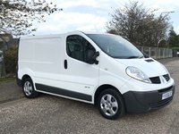 2011 RENAULT TRAFIC 2.0 SL27 DCI S/R 115 BHP £SOLD