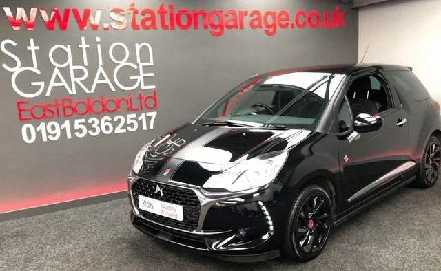 USED 2017 67 DS DS 3 1.6 BLUEHDI PERFORMANCE LINE S/S 3d 98 BHP AMAZING CONDITION BIG SPEC DS3 WITH FULL CITROEN SERVICE HISTORY, PERFORMANCE LINE DETAILS AND GRAPHICS