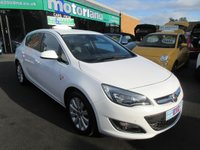 USED 2014 64 VAUXHALL ASTRA 2.0 ELITE CDTI S/S 5d 163 BHP **BUY NOW PAY NEXT YEAR**