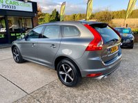 """USED 2016 66 VOLVO XC60 2.0 D4 R-DESIGN NAV 5d AUTO 188 BHP ONE OWNER, SAT NAV, 18"""" ALLOYS, LEATHER, HEATED SEATS, FRONT HEATED SCREEN, CRUISE CONTROL, DAB RADIO, CLIMATE CONTROL, PARKING SENSORS, 3 SERVICE STAMPS, MOT 19/09/20"""