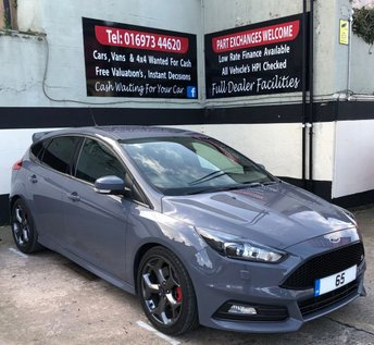2015 FORD FOCUS ST-3 2.0 TDCI 5DR 185 BHP, NAVIGATION, HEATED STEERING WHEEL £14595.00