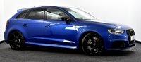 USED 2016 16 AUDI RS3 2.5 TFSI Sportback S Tronic quattro 5dr (Nav) Pan Roof, Dynamic Pack, B&O ++