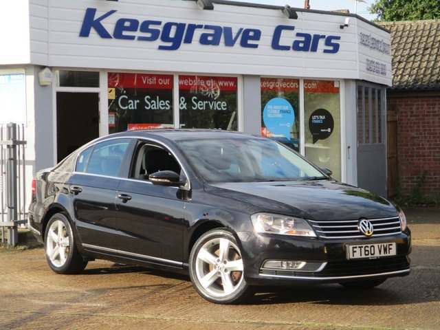 USED 2011 60 VOLKSWAGEN PASSAT 1.6 SE TDI BLUEMOTION TECHNOLOGY 4d 104 BHP £30 Tax, New MOT