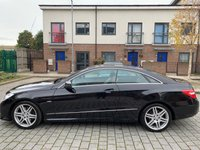 USED 2010 60 MERCEDES-BENZ E-CLASS 2.1L E220 CDI BLUEEFFICIENCY SPORT 2d AUTO 170 BHP Leather Interior, Low Mileage, 6M WARRANTY, NEW MOT, FINANCE