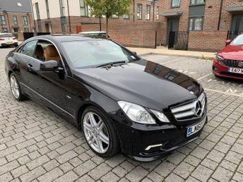 2010 MERCEDES-BENZ E-CLASS 2.1L E220 CDI BLUEEFFICIENCY SPORT 2d AUTO 170 BHP £8795.00