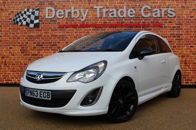 VAUXHALL CORSA at Derby Trade Cars