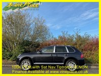 USED 2005 05 PORSCHE CAYENNE 4.5 S 5d 340 BHP +100K+TAX IS £325 per  YEAR+SAT NAV+HEATED LEATHER+XENONS+