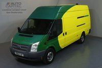 USED 2013 62 FORD TRANSIT 2.2 350 RWD L4 H3 JUMBO 100 BHP  ONE OWNER FROM NEW