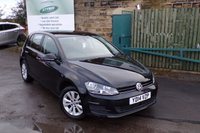 USED 2014 14 VOLKSWAGEN GOLF 1.6 SE TDI BLUEMOTION TECHNOLOGY 5d 103 BHP One Former Owner FULL Volkswagen Service History
