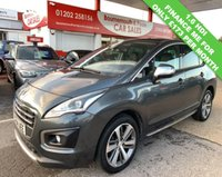 USED 2014 64 PEUGEOT 3008 1.6 HDI CROSSWAY 5d 115 BHP *ONLY 67,000 MILES*