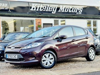 2010 FORD FIESTA 1.6 ECONETIC TDCI 5DR FREE ROAD TAX! £3495.00