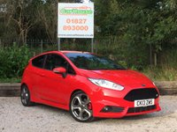 USED 2013 13 FORD FIESTA 1.6 ST-2 3dr Keyless Start, Heated Seats