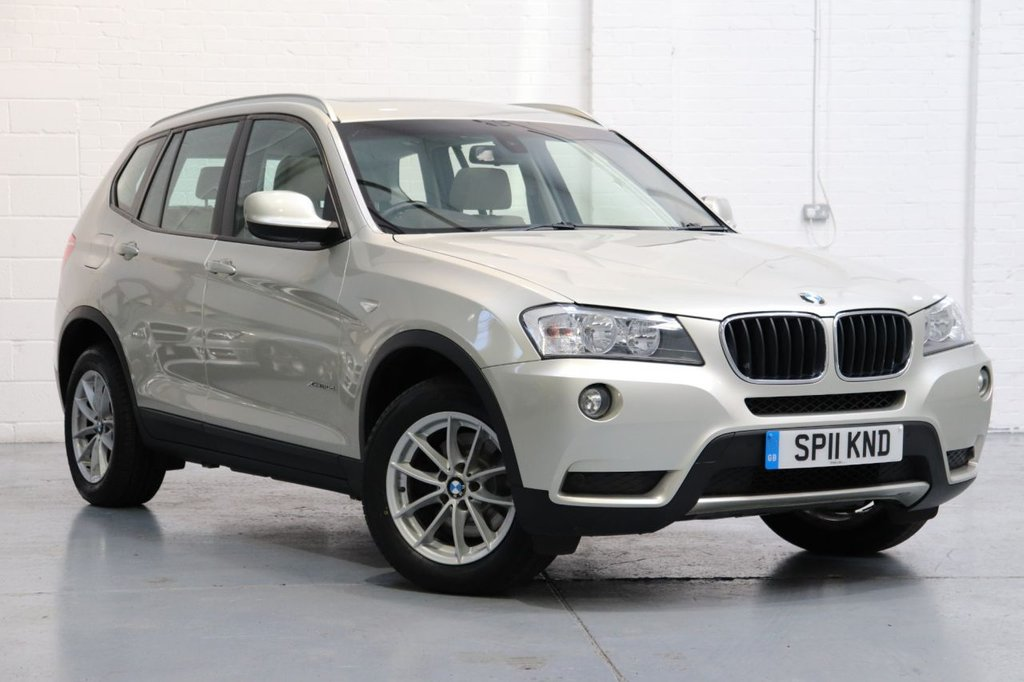 USED 2011 11 BMW X3 2.0 XDRIVE20D SE 5d AUTO 181 BHP BMW X3 2.0 20d SE xDrive 5dr, Leather + Panoramic Roof + Cruise + Full Bmw History