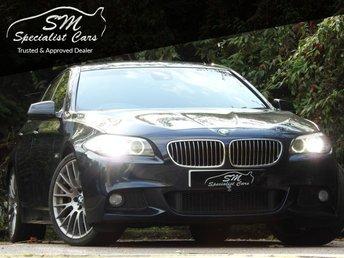 2011 BMW 5 SERIES 3.0 535D M SPORT 4d AUTO 295 BHP £12990.00