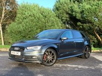 USED 2016 16 AUDI A3 2.0 TDI S LINE NAV 5d AUTO 148 BHP GREAT SPEC LOW MILEAGE AUTOMATIC S LINE A3 5DR WITH FSH