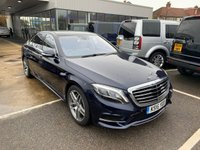 USED 2016 16 MERCEDES-BENZ S CLASS 4.7 S 500 L AMG LINE EXECUTIVE 4d AUTO 449 BHP
