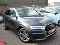 USED 2016 66 AUDI Q3 2.0 TDI QUATTRO S LINE PLUS 5d 148 BHP ANY PART EXCHANGE WELCOME, COUNTRY WIDE DELIVERY ARRANGED, HUGE SPEC