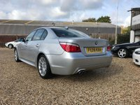 USED 2008 08 BMW 5 SERIES 3.0 525d M Sport 4dr Leather& Rare Manual Car