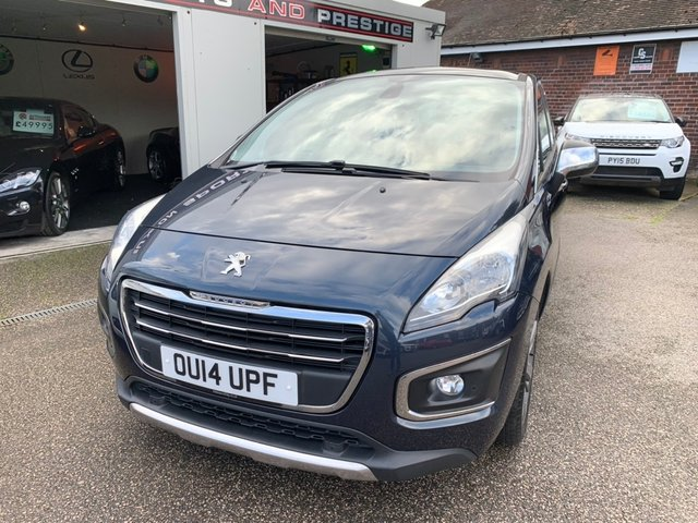 PEUGEOT 3008 at Euxton Sports and Prestige