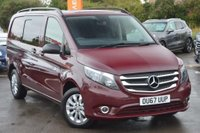 USED 2017 67 MERCEDES-BENZ VITO 2.1 116CDI Compact Crewcab Van 5dr NO VAT*5 SEATS*PRIVATE OWNER