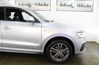 USED 2015 65 AUDI Q3 1.4 TFSI CoD S line S Tronic (s/s) 5dr PANORAMIC ROOF! 1 LADY OWNER!
