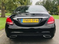 USED 2015 65 MERCEDES-BENZ C CLASS 2.1 C250d AMG Line 7G-Tronic+ (s/s) 4dr SATNAV,  FDSH, 1 Owner To New