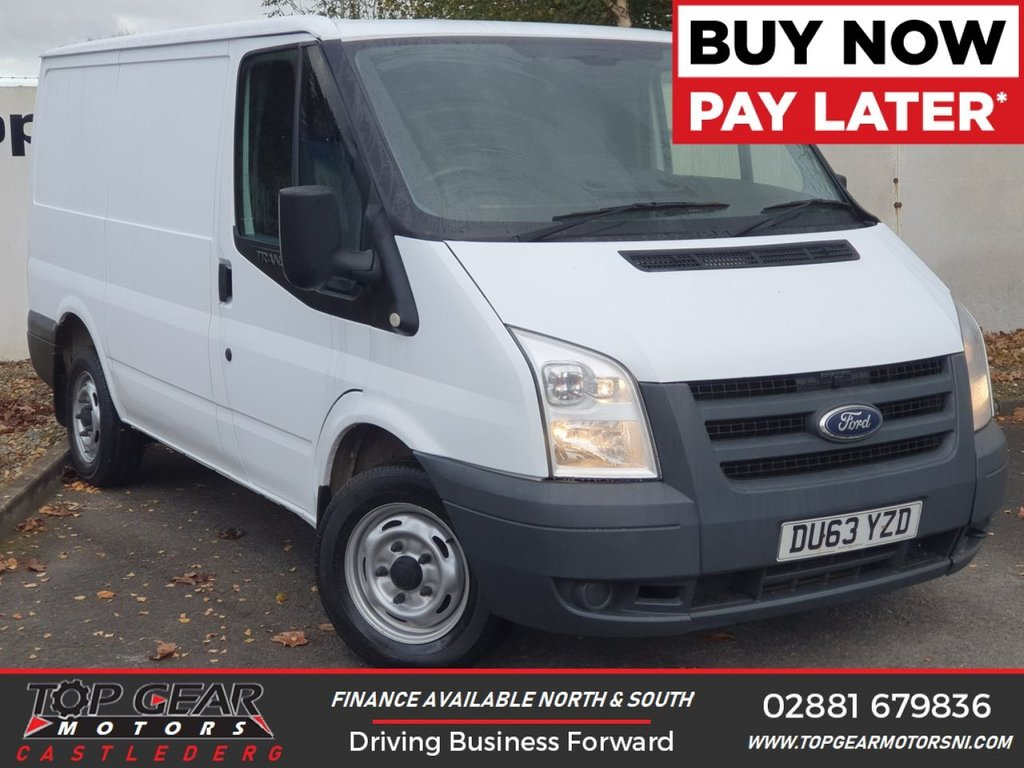 USED 2013 63 FORD TRANSIT 260 2.2 100 BHP LR**OVER 90 VANS IN STOCK** LOW ROOF, WARRANTED MILES
