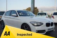 USED 2012 62 BMW 1 SERIES 1.6 114I SPORT 5d 101 BHP