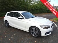 USED 2015 65 BMW 1 SERIES 2.0 118D SPORT 3d 147 BHP