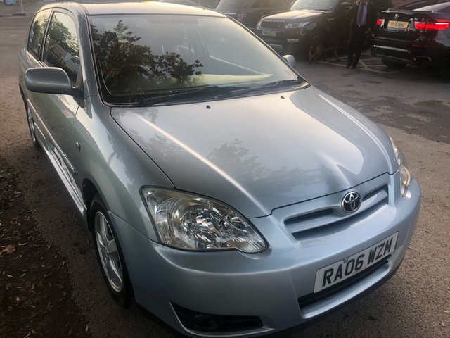 USED 2006 06 TOYOTA COROLLA 1.4L COLOUR COLLECTION D-4D 3d 89 BHP TOYOTA CAROLA 1.4 L COLOUR COLLECTION DIESEL . THIS VEHICLE HAS VERY LOW RUNNING COSTS WITH CHEAP TAX AND FUEL BILLS . GOOD MPG , SERVICE HISTORY AND A FULL 12 MONTHS MOT UPON SALE . LOOKS AND DRIVES SUPERB WITH TOYOTA RELIABILITY .